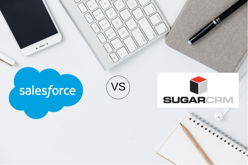 Salesforce Vs SugarCRM - Scideas Solutions Pvt  Ltd